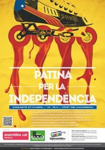 Patinada per a Independància